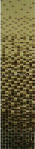 A41 green glass mosaic/ glass swimming pool tiles/ light green bathroom wall tile