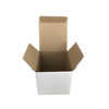 Small Customized white corrugated carton box packaging cardboard paper led light box