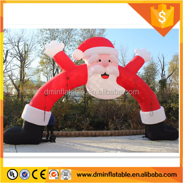 Santa Archway Christmas airblown Inflatable
