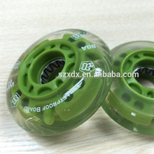 High quality hockey skate wheel flashing roller wheel