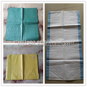 new ordinary product printed PP woven rice,cement,garbage bags