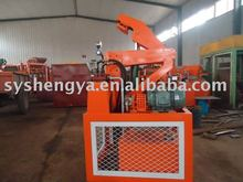 SY1-20 Hydraulic soil Interlocking Block Making Machine used concrete block making machine