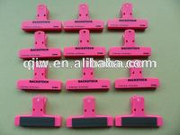 OEM plastic large plastic bag clip for promotion
