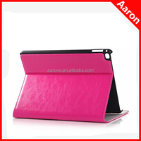 genuine leather crazy horse texture case for iPad 6 tablet accessories