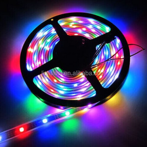 SMD5050 60LEDS/M DC12V/DC24V LED Flexible Strips RGB led strip light led strip without resistor