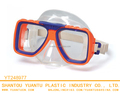 Protective PVC Junior diving glasses swimming eyewear