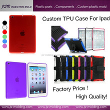 Short lead time ! China dongguan professional manufacturer custom 2015 new fashion soft tpu case / cover for ipad