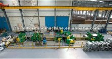Auto uncoil-slitting-recoiling producing line