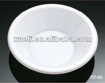 "PZ-05 7"" (180mm) disposable plastic bowl"