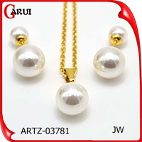 Guangzhou wholesale market meaningful pendant necklaces pearl necklaces designs gold necklace