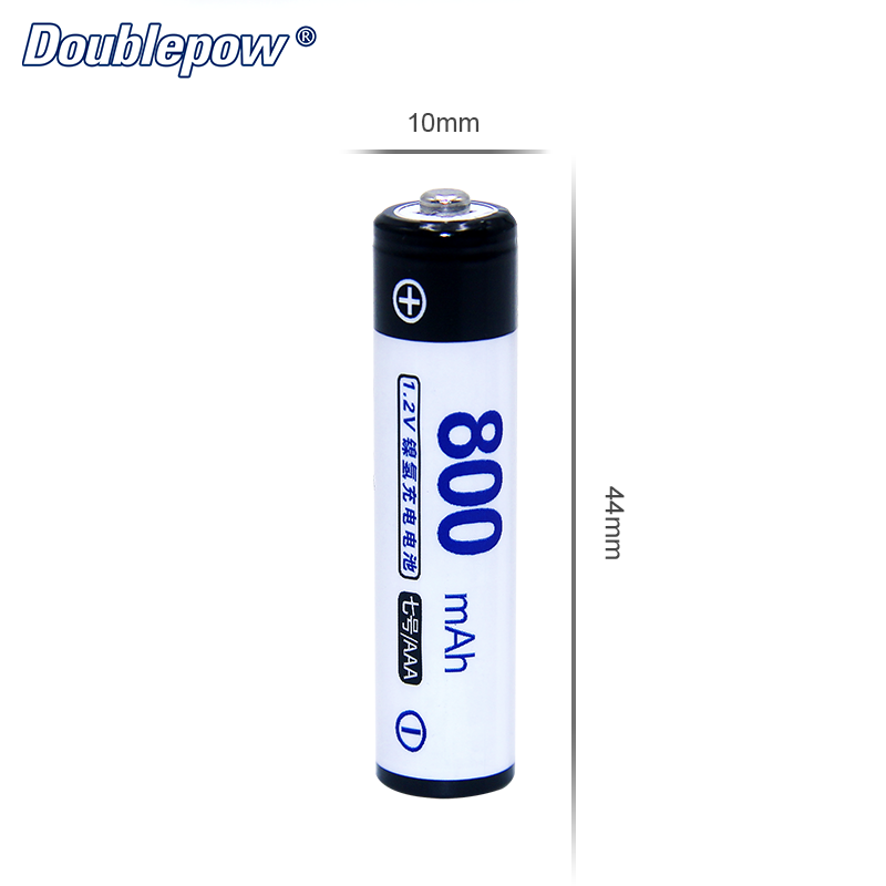 OEM 1.2V Ni-MH AAA 800MAH rechargeable battery cell