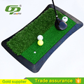 Cheap half long half short grass golf practice mat