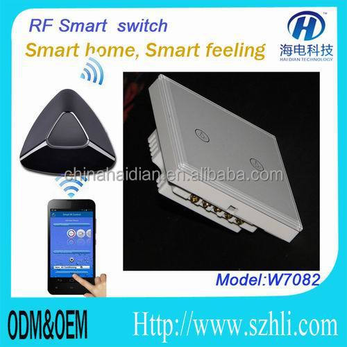 RF433/315/868 remote control relay Touch switch with smart home