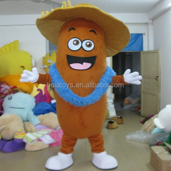 Hola sausage costume/fast food mascot costume for sale