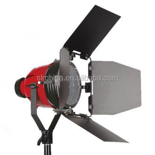 Pro 800w Red Head Light with cooling frame Coil 2x Bulbs studio video film lighting