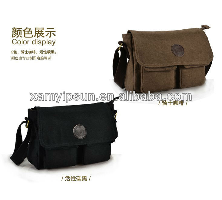 ARMY MILITARY CLASSIC HEAVY-WEIGHT CANVAS MESSENGER BAG
