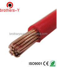 BVVB/RVV/BVR flat wire electrical cables and wires factory price