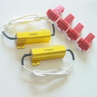 Error Free LED Signal Flasher Taiwan Made Fix Load Gold Resistor (50W 6 OHM)