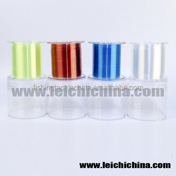 Wholesale different color nylon Monofilament fishing line