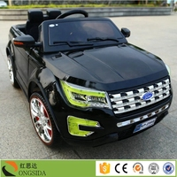 China Factory RC Car Toy Mini Electric Car for kid ride on with two seat for CP child