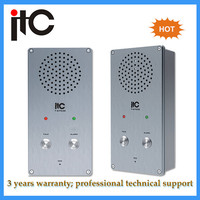 Cheap emergency call IP based audio waterproof intercom system