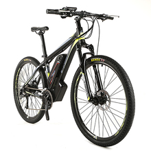 2017 mountain electric bicycle 350W 48V mountain e-bike with lithium battery 10A