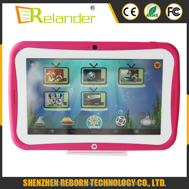 HERE !!! 7 inch RK3126 tablet pc 1G 8G android 4.4 quad core FOR KIDS