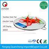 Round Shape Digital Kitchen Scale Stainless