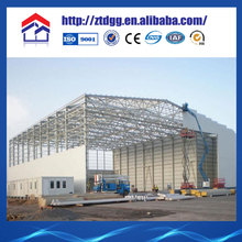 Arched Roof Truss For Prefabricated Steel Structure House