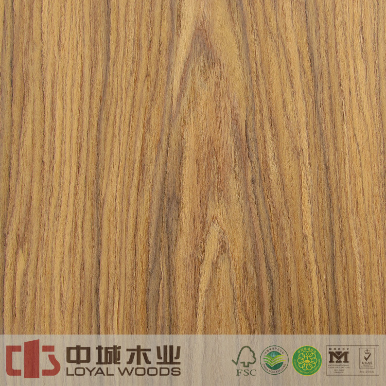 Trade Assurance 0.4mm crown cut engineered santos rosewood face veneer