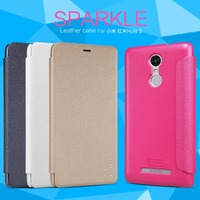 Nillkin Sparkle Flip Matte Leather Smart Slim Cover Case For Xiaomi Redmi Note 3