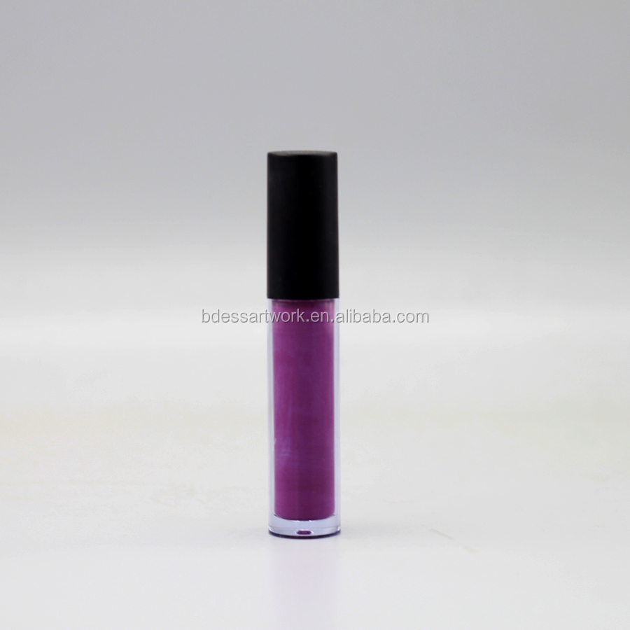 Hot cosmetic Make your own brand fashion color Longlasting liquid lipstick