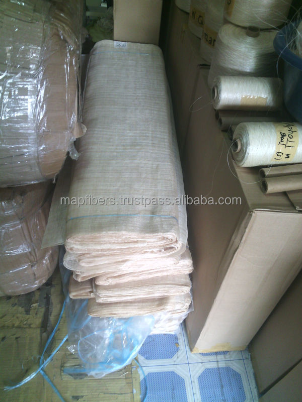Natural sinamay Of abaca fiber