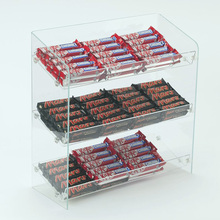 Custom Clear Acrylic Confectionery Display, Acrylic Sweet Display Stand
