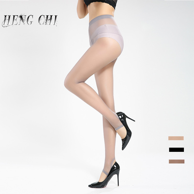 free sample women sexy shiny transparent stirrup pantyhose tights