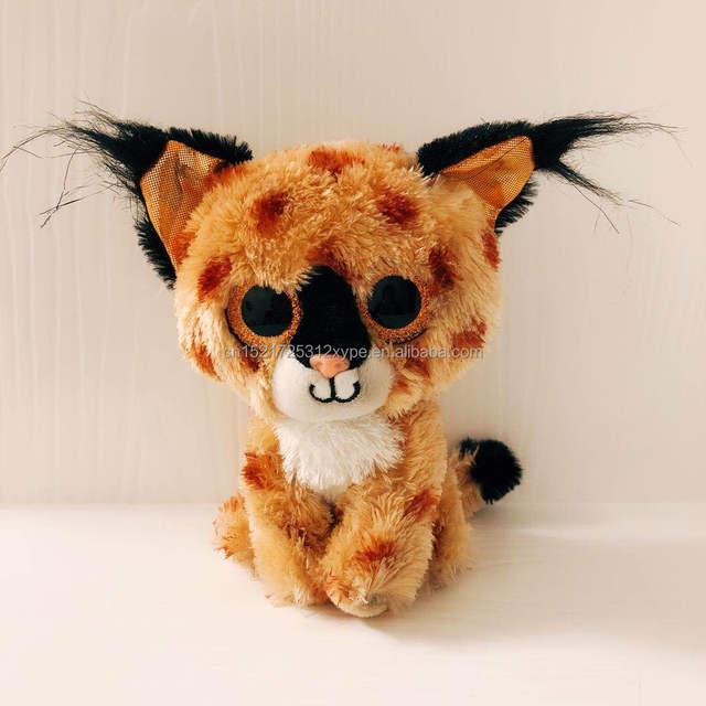 Wholesale Big Eyes Soft Custom Lifelike Stuffed Animals Cat Plush Toys For Kids