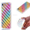 Chrome TPU gel case back cover for iPhone 7, Daisy soft case for iPhone 7