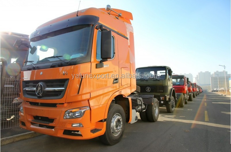 Hot sale Beiben V3 6 wheeler prime mover 290hp tractor truck