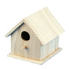 Hot selling christmas handmade carved wooden crafts bird house