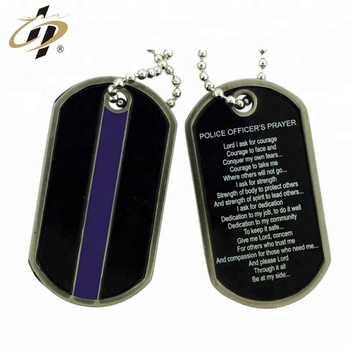 Manufacturer making custom cheap antique metal military dog tags
