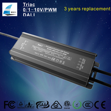 IP67 waterproof dali dimming led driver ac to dc 200w transformer constant current led switch power supply