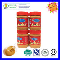 340gx12 factory price wholesale natural plastic bottle peanut butter