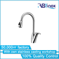 ABLinox 2018 new stainless steel kitchen pull out faucet