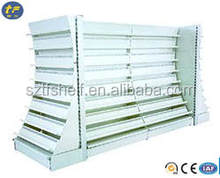 Heavy -duty metallic book and CD supermarket dispaly racks /bookstore shelf