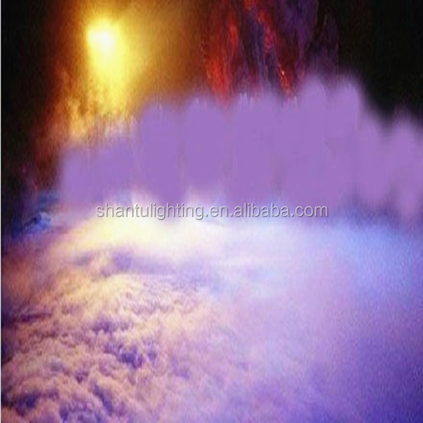 Stage Effects Machine 3000W Dry Ice Machine Stainless Steel Exterior Wedding Party Fog Machine