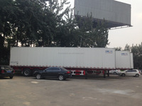 CIMC Tri--axle refrigerated cargo trailer