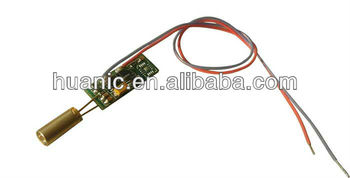 MDF520-1-5-3.8x9.15, Direct diode green laser module,super small size,low consumption,wide temperature