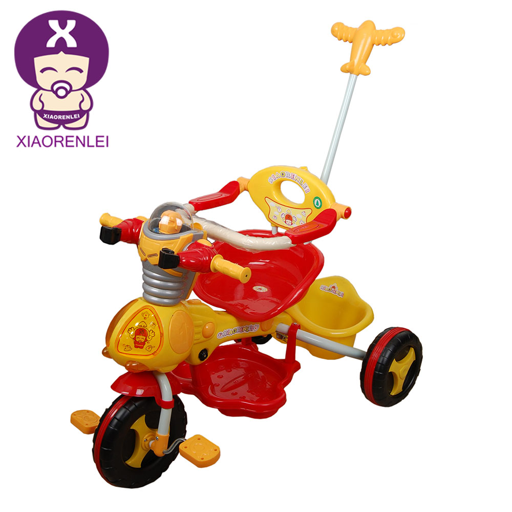 Classic Rider Pedal Pusher Red 7 Inch Kids Trike Tricycle