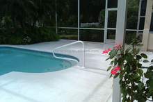 protable removable swimming pool handrail