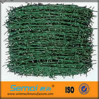 Cheap Plastic Heavy Duty Galvanized Colored Drawing Bulk Weight Military Barb Wire Manufacturers